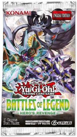 Yu Gi Oh Battles of Legend: Hero's Revenge