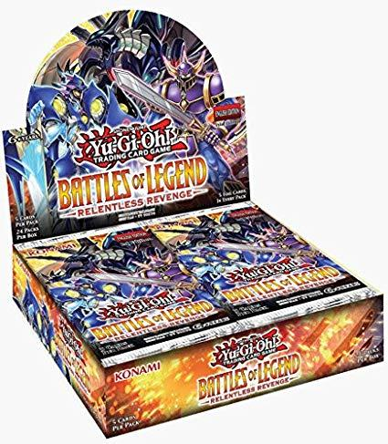 Yu Gi Oh Battles of Legend: Relentless Revenge Booster Box