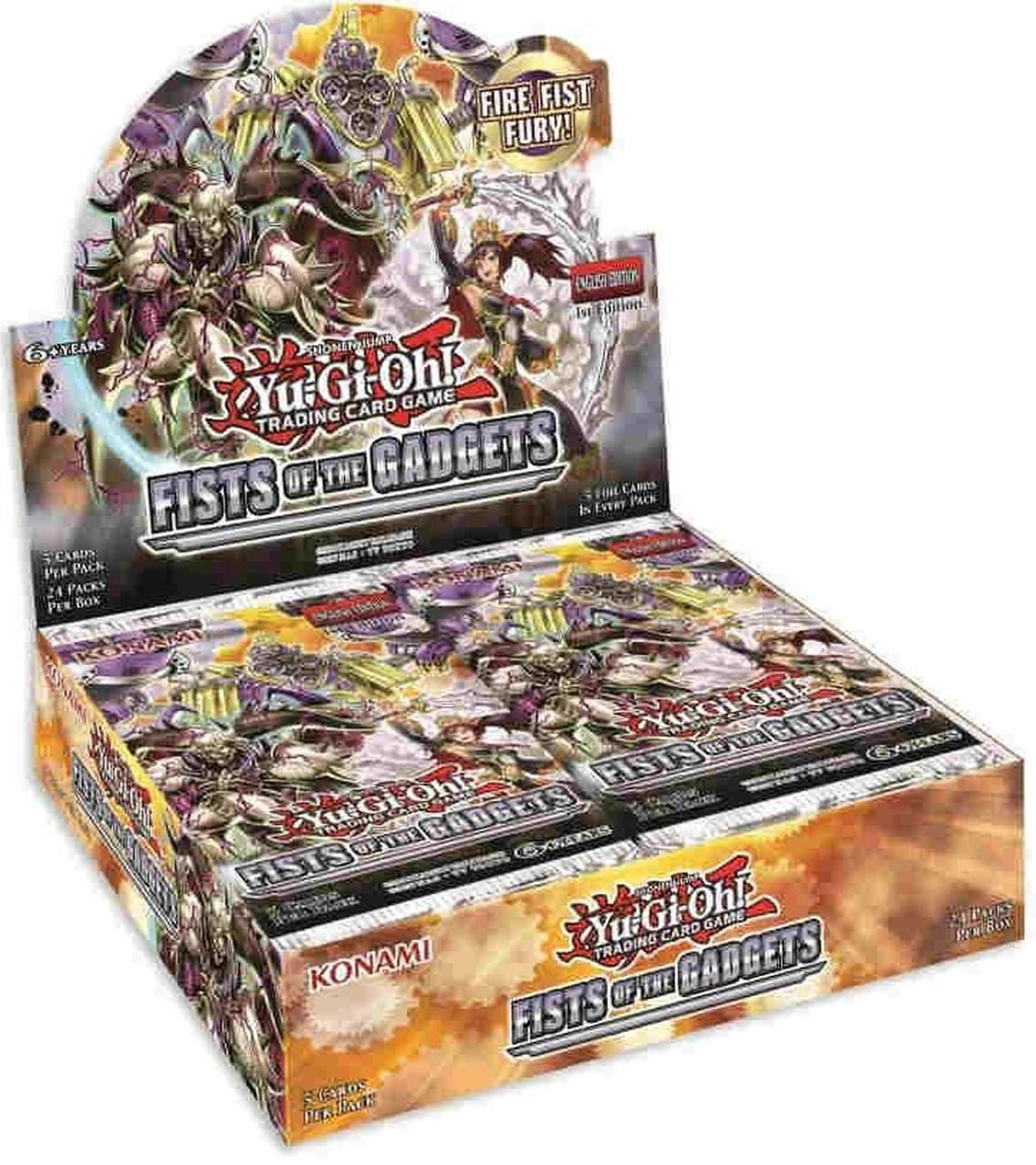 Yu Gi Oh Fist of the Gadgets Booster Box