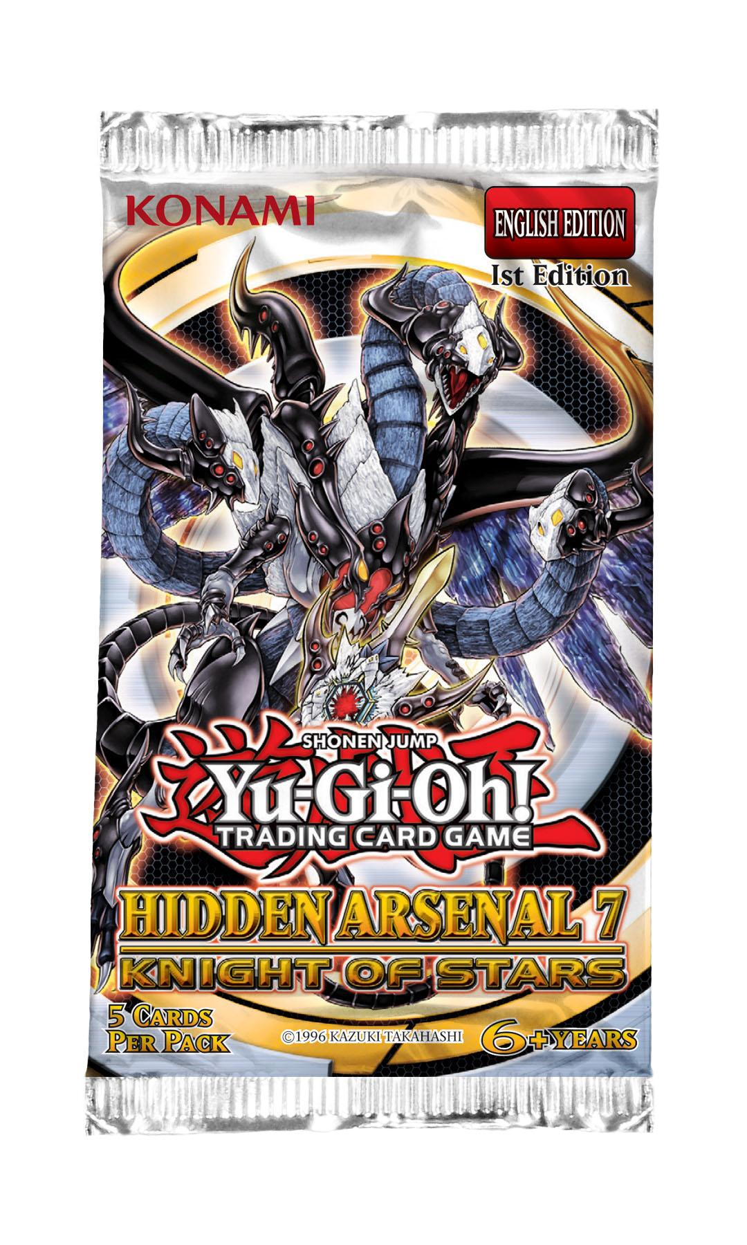 Yu Gi Oh Booster Hidden Arsenal 7: Knight of Stars