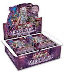 Yu Gi Oh Legendary Duelists: Immoral Destiny Booster Box