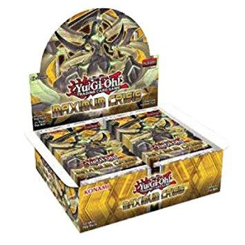 Yu Gi Oh Maximum Crisis Booster Box