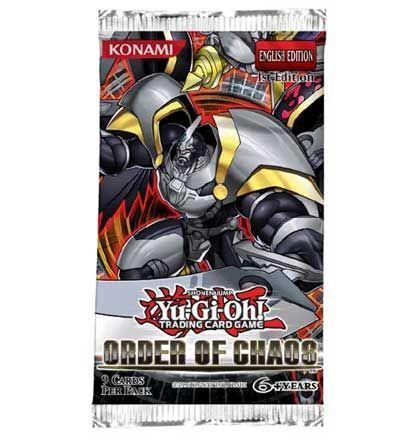 Yu Gi Oh Order of Chaos Booster