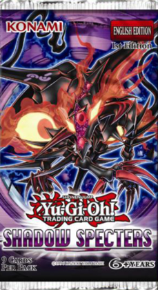 Yu Gi Oh Shadow Specters Booster