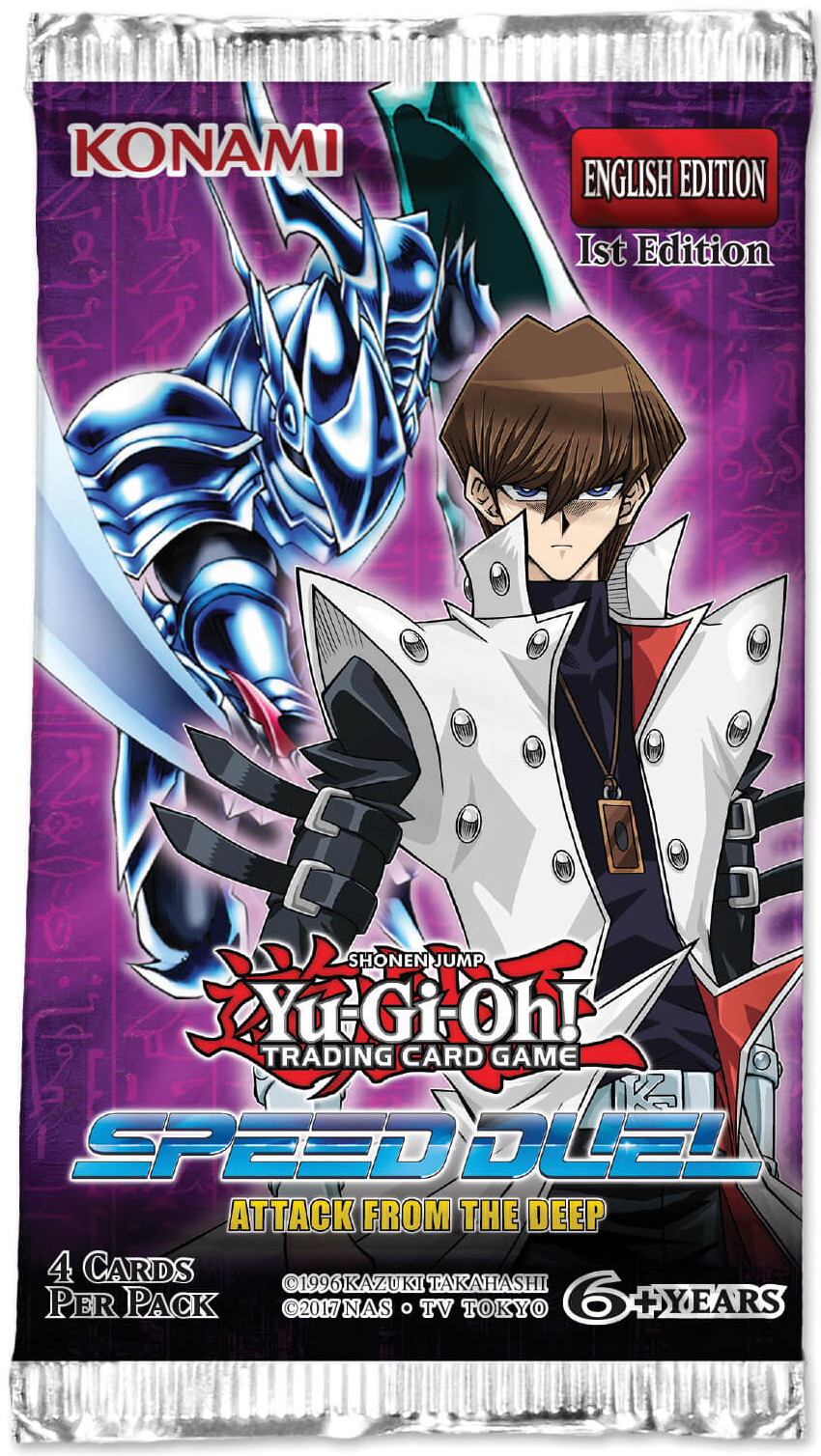 Yu Gi Oh Atack from the Deep